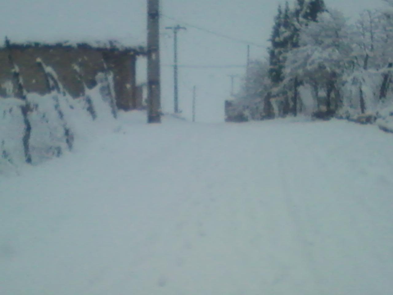 برف بی سابقه در مشایخ